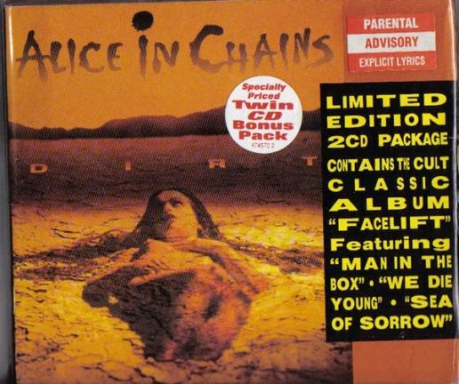 Alice in Chains - Dirt / Facelift