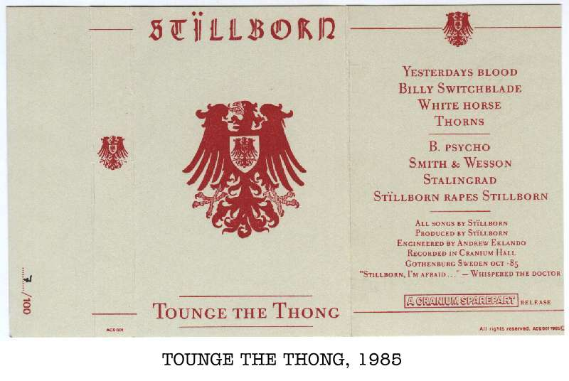 Stillborn - Tounge the Thong