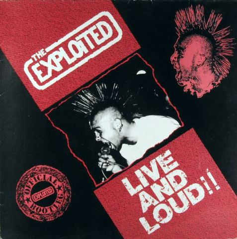 The Exploited - Live and Loud!!
