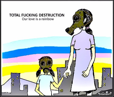 Total Fucking Destruction - Our Love Is A Rainbow