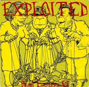 The Exploited - Rival Leaders EP
