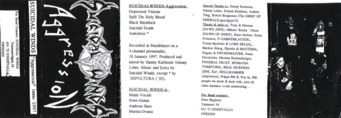 Suicidal Winds - Aggression