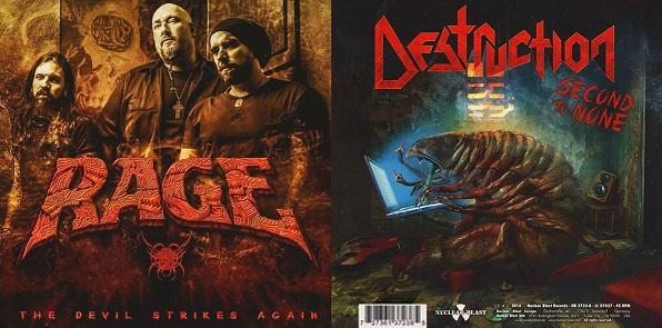 Destruction / Rage - The Devil Strikes Again / Second to None