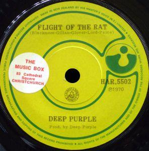 Deep Purple - Flight of the Rat