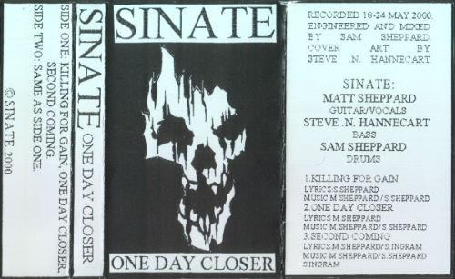 Sinate - One Day Closer