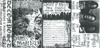 Decomposed - Sermons of Morbidity
