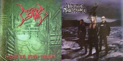 Imperious Malevolence / Defeated Sanity - Live in Germany / Collapsing Human Failures