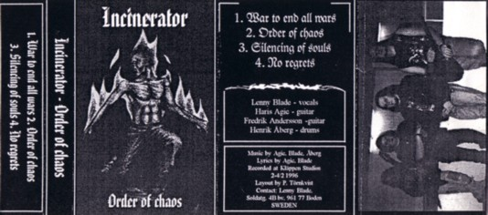 Incinerator - Order of Chaos