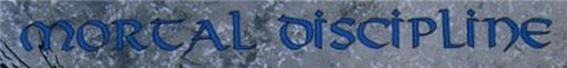 Mortal Discipline - Logo