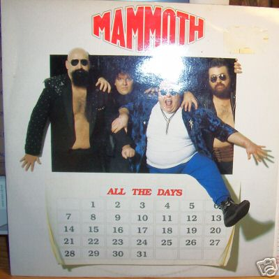 Mammoth - All the Days