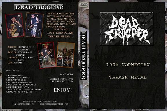 Dead Trooper - 100 % Norwegian Thrash Metal