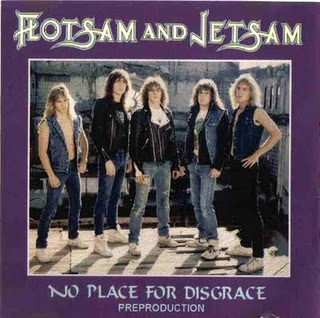 Flotsam and Jetsam - No Place for Disgrace (Pre-production demo)