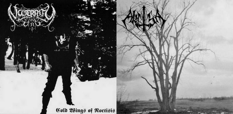 Akitsa / Nocternity - Cold Wings of Noctisis / Akitsa