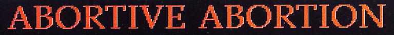 Abortive Abortion - Logo