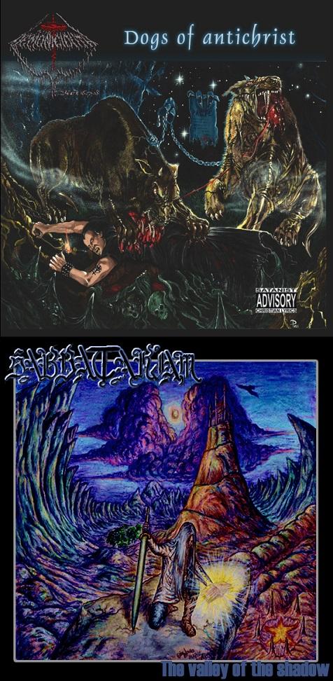 Demoniciduth / Sabbatariam - The Valley of the Shadow / Dogs of Antichrist