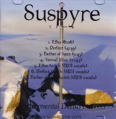 Suspyre - Instrumental Demo of 2003