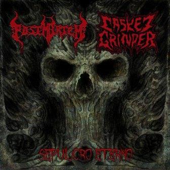 Postmortem / Casket Grinder - Sepulcro eterno
