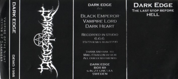 Dark Edge - The Last Stop Before Hell