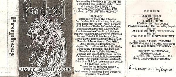 Prophecy - Dusty Inheritance