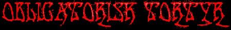 Obligatorisk Tortyr - Logo