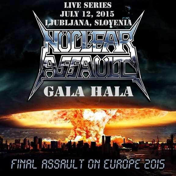 Nuclear Assault - Live in Ljubljana, Slovenia