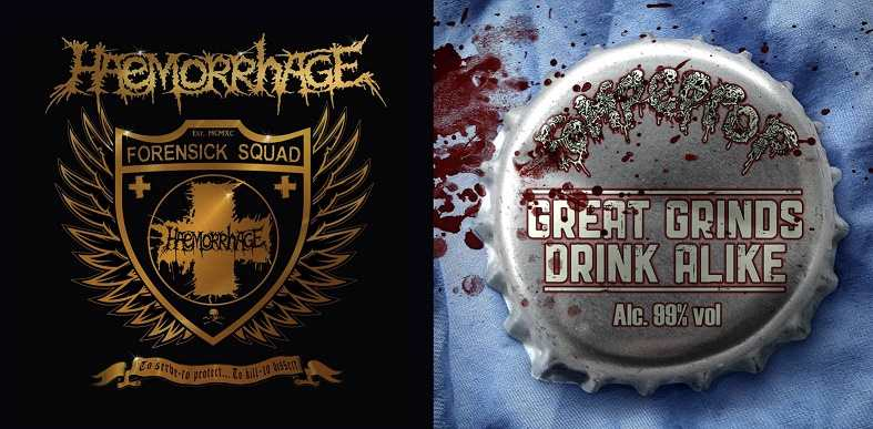 Haemorrhage - To Serve - To Protect... To Kill - To Dissect / Great Grinds Drink Alike