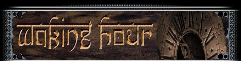 Waking Hour - Logo