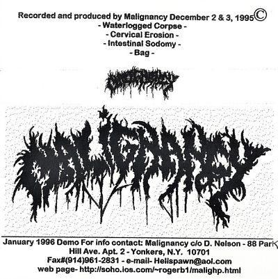 Malignancy - Rehearsal Demo