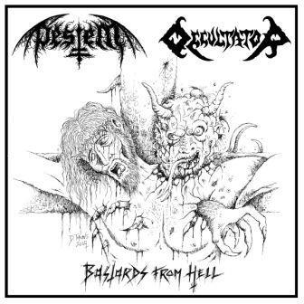 Occultator / Pestem - Bastards from Hell