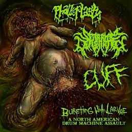 Cuff / Phalloplasty / Seraphim Defloration - Bursting with Larvae: A North American Drum Machine Assault
