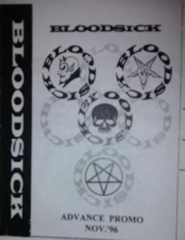 Bloodsick - Advance Promo Nov. '96