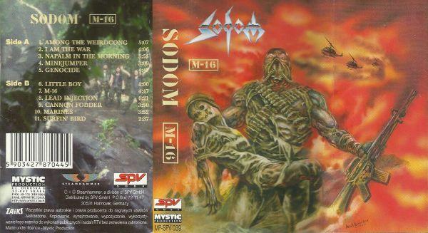 Sodom - M-16 - Encyclopaedia Metallum: The Metal Archives