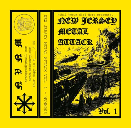 Massive Retaliation / Siege Column / Jaws of Hades / Nefarious Cabal / DSS - New Jersey Metal Attack Vol. 1