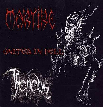 Martire / Throneum - United in Hell