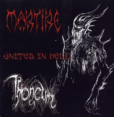 Martire / Throneum - United in Hell