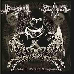Goatpenis / Kurgaall - Satanic Terror Weapons