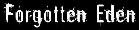 Forgotten Eden - Logo