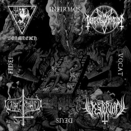 Gravespawn / Vesterian / Wormreich / Diabolus Amator - Infirmos Vocat Deus Fidei