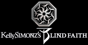 Kelly Simonz's Blind Faith - Logo