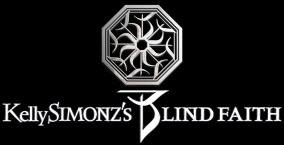 Kelly Simonz's Blind Faith - Logo