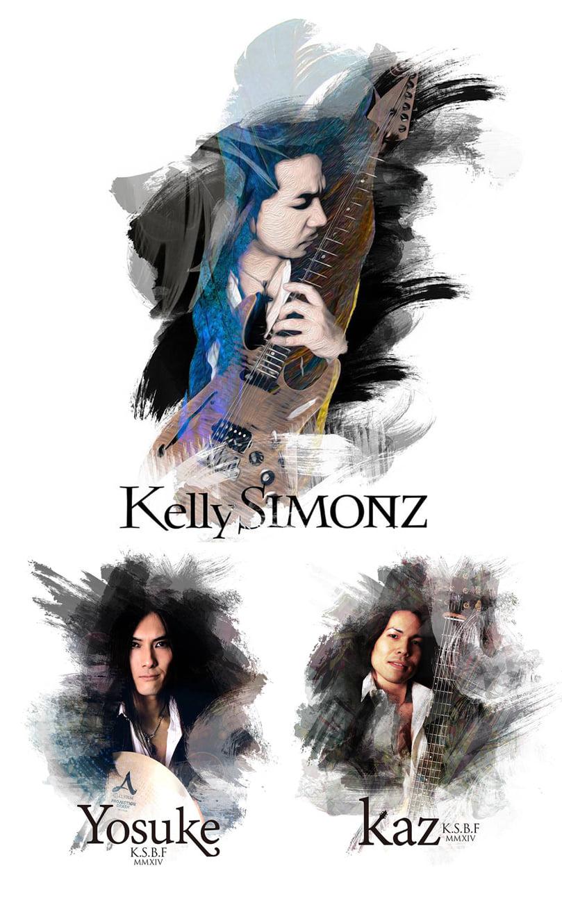 Kelly Simonz's Blind Faith - Photo