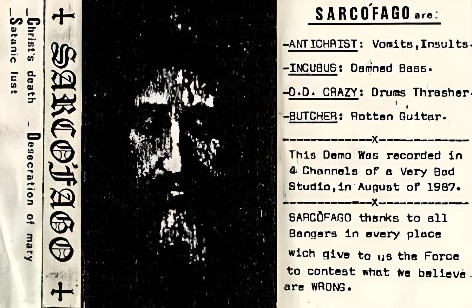 Sarcófago - Christ's Death