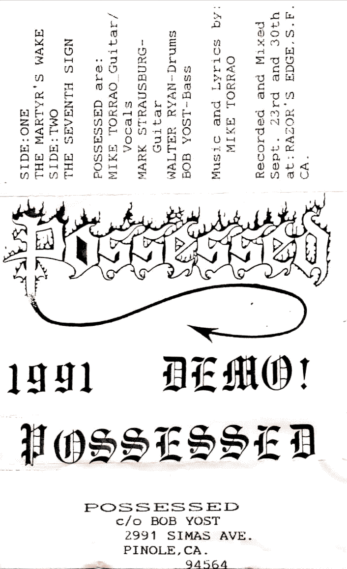 Possessed - Demo 1991