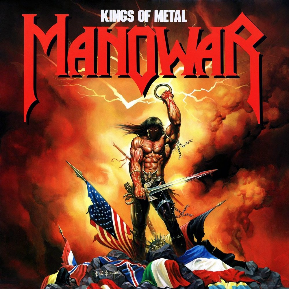 Manowar — Kings of Metal (1988)