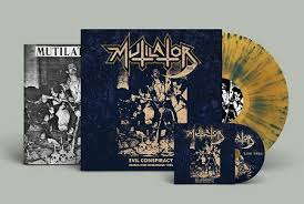 Mutilator - Evil Conspiracy - Demos and Rehearsals 1986