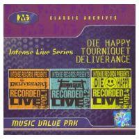 Tourniquet / Deliverance / Die Happy - Intense Live Series