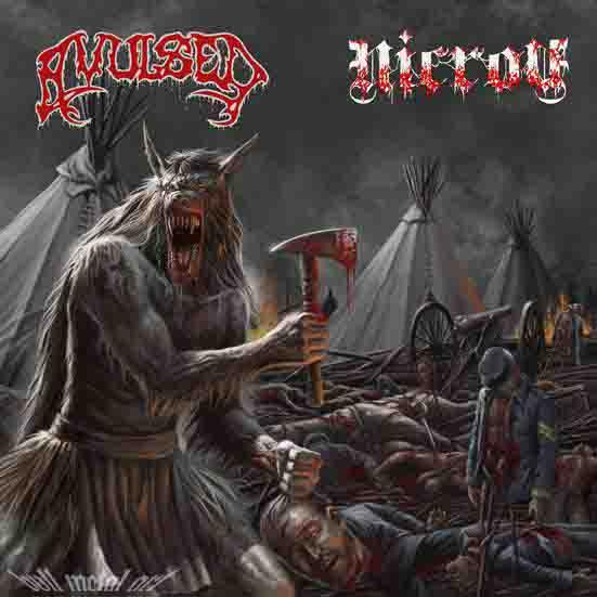 Avulsed / Nicrov - Lycanthropic Carnage
