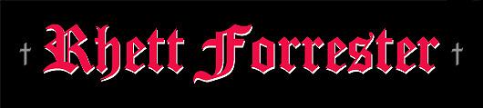 Rhett Forrester - Logo