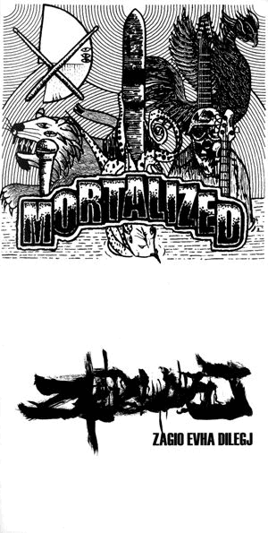 Mortalized - Pure Grind Armageddon vs. Holocaust from Hell