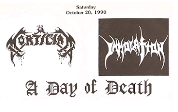 Immolation / Mortician - A Day of Death